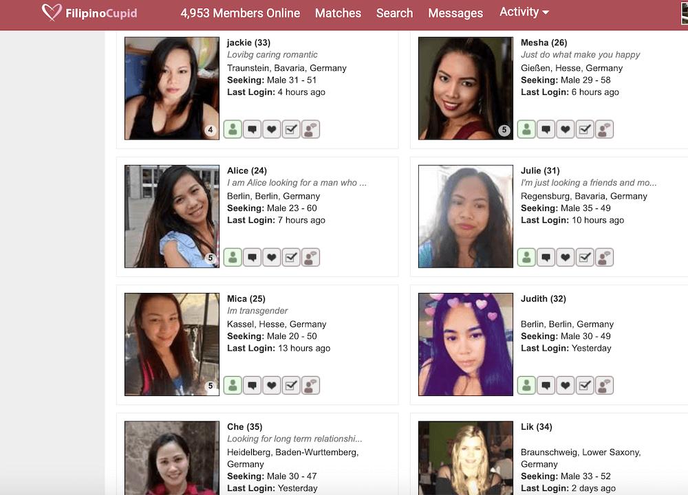 FilipinoCupid Frauen Deutschland