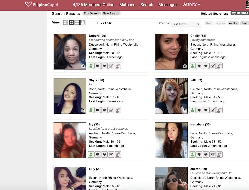 Philippinische Frauen Nordrhein Westfalen