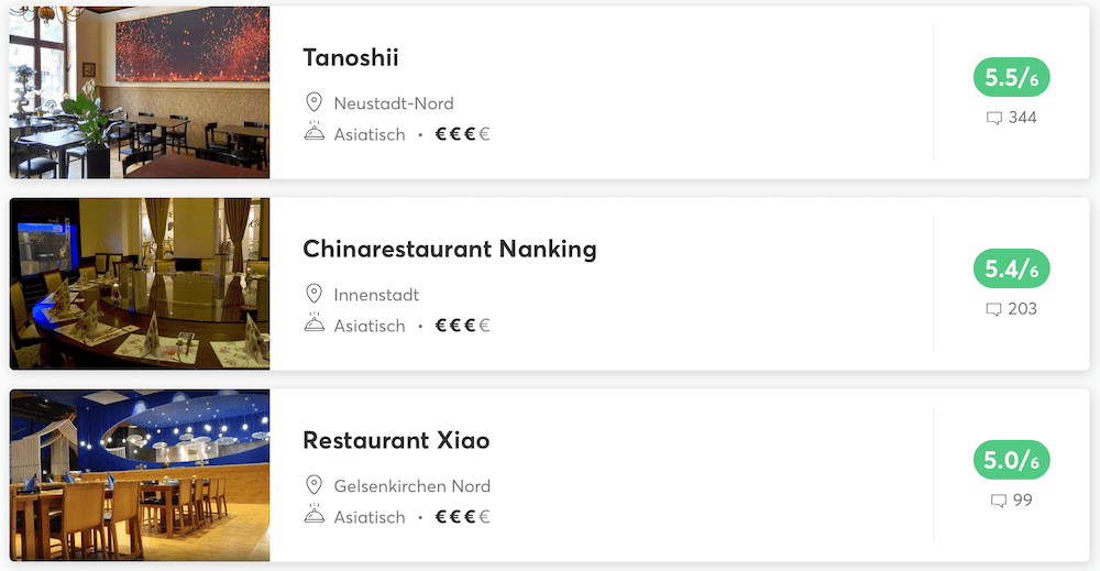 Philippinische Restaurants in Dortmund