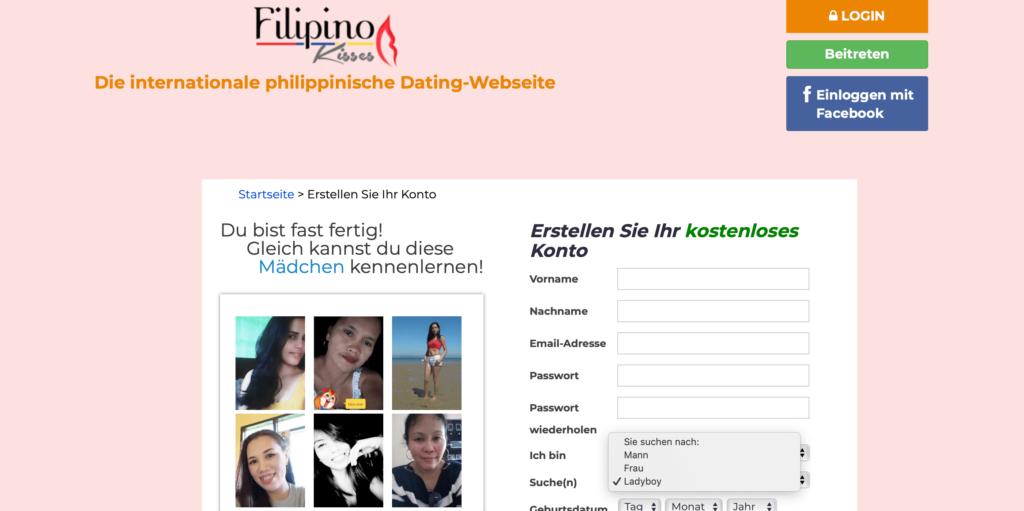 Philippinen Ladyboy Singles finden